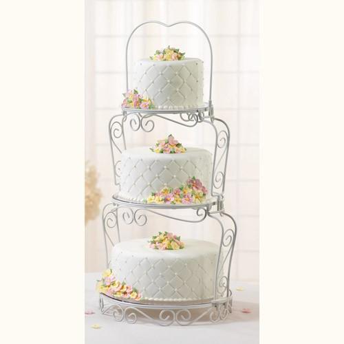 Tårtställning, 3 våningar - Wilton