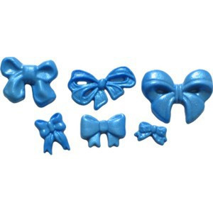 First Impressions Molds Silikonform, Small Bow Set