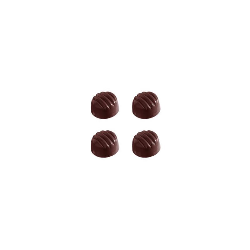 Pralinform Randig - Chocolate World