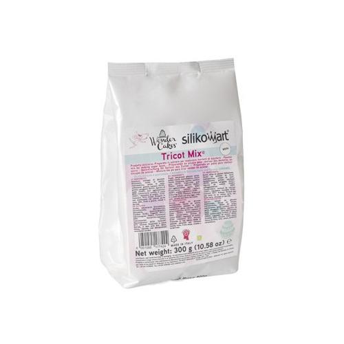 Silikomart Tricot Mix, vit, 300 g