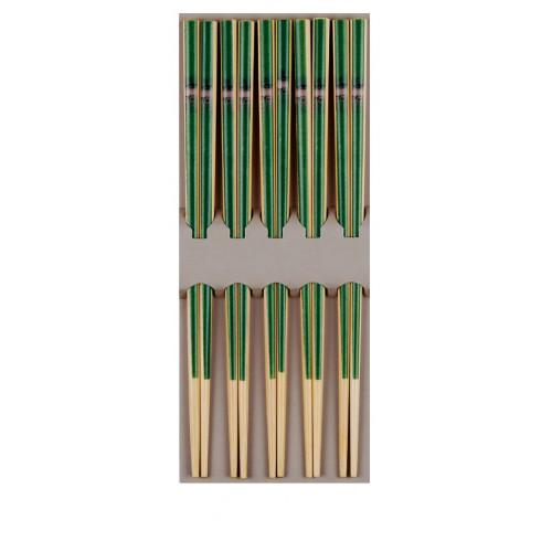 Tokyo Design Studio Ätpinnar Bambu, gröna