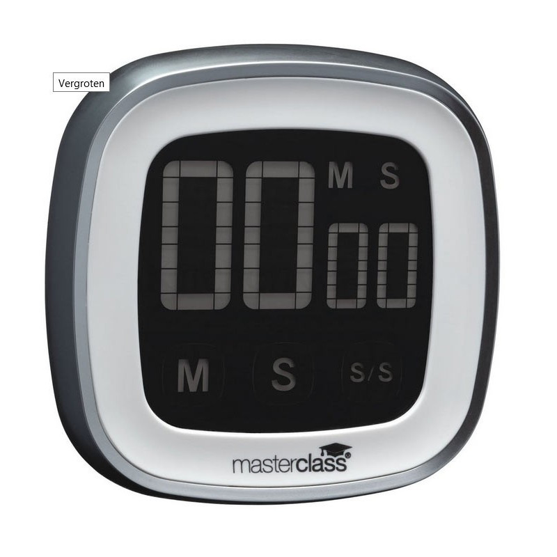 Masterclass Digital timer med touchscreen