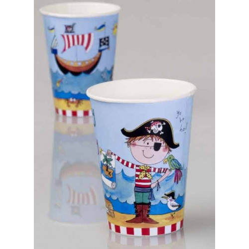 Pappersmuggar Pirat, 6 st