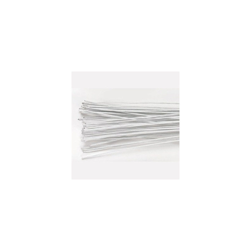 Culpitt Gum paste wire, metalltråd, vit