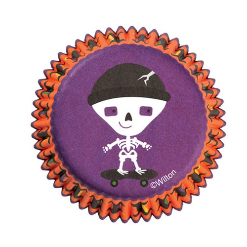 Wilton Muffinsform Spooky Pop