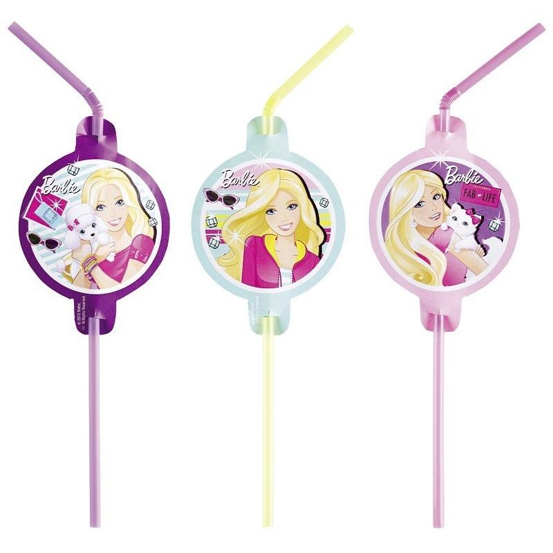 Sugrör Barbie Fashion