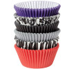 Wilton Muffinsform Mix, Damask Zebra, 150 st