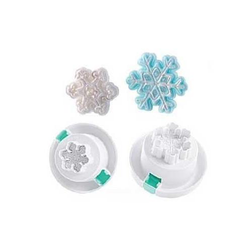 Silikomart Wonder Cakes 3D Utstickare, snöflingor
