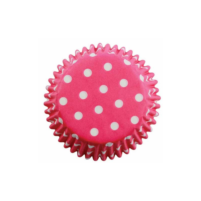 PME Muffinsform Pink Polka Dots