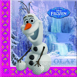 Disney Servetter Frozen, Olaf
