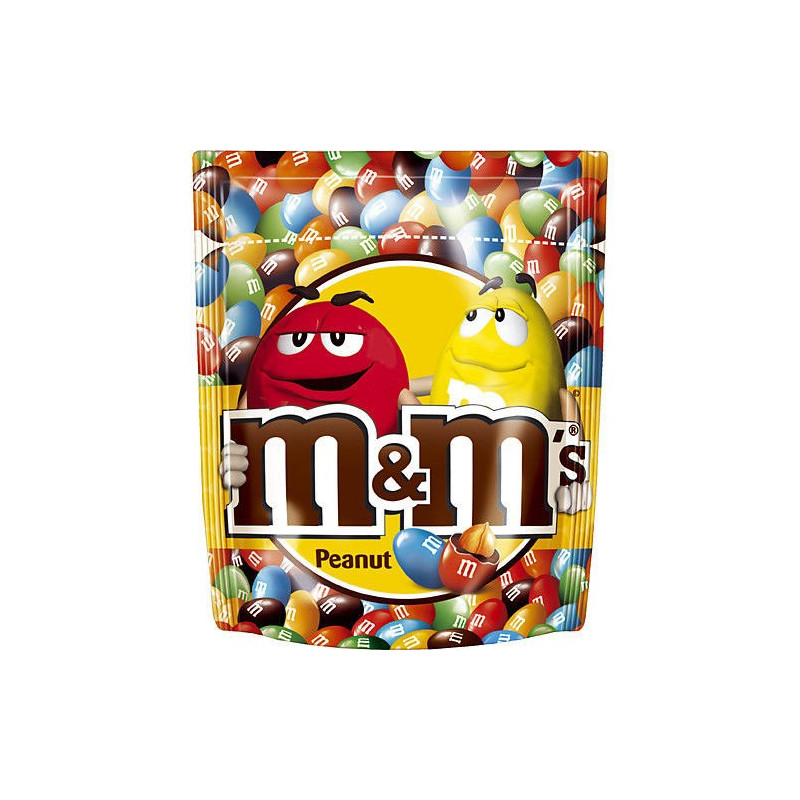 M&Ms Peanut, jordnöt, 165 gram
