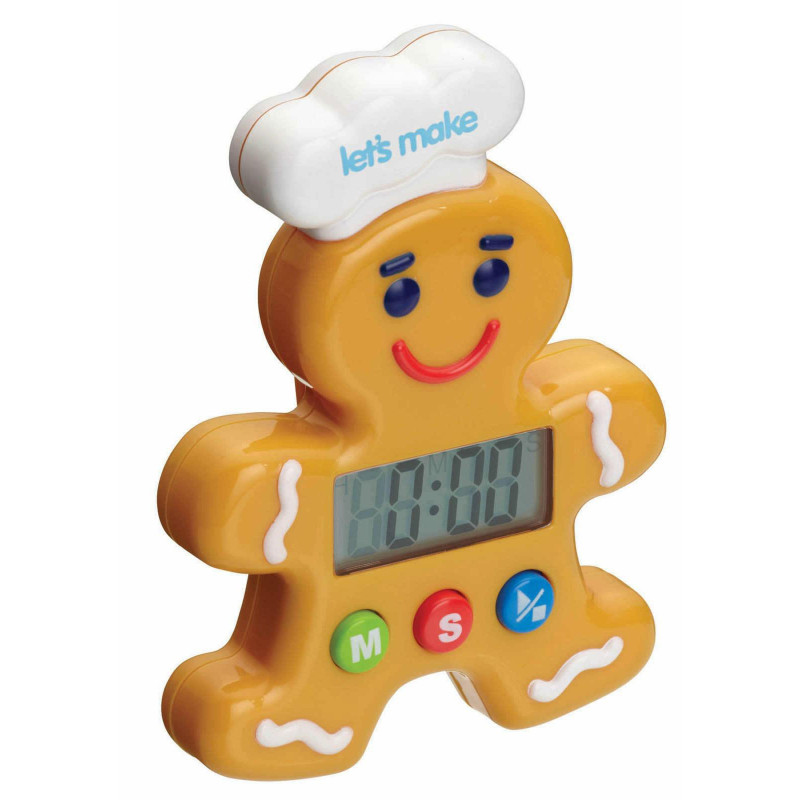 Kitchen Craft Timer Pepparkaksgubbe