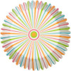 Wilton Muffinsform Pinstripe