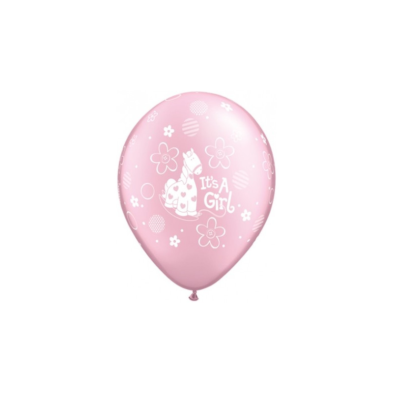Qualatex Ballonger It's a girl! Rosa