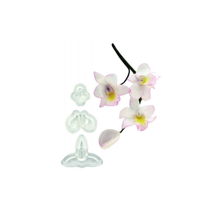 JEM Utstickare Singapore orkidé, liten
