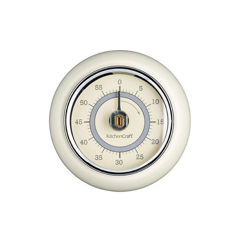 Kitchen Craft Mekanisk Timer, magnetisk