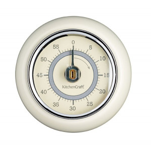 Kitchen Craft Mekanisk Timer, magnetisk