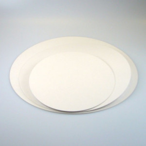 Vita Tårtbrickor, 5-pack, 20 cm
