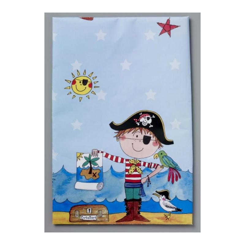 Bordsduk i plast, Pirat, 120 x 180 cm