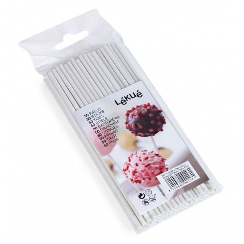 Lékué Cake pop pinnar, 50 st