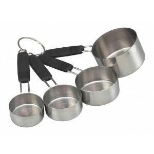 Måttsats Cups, rostfritt stål - Masterclass
