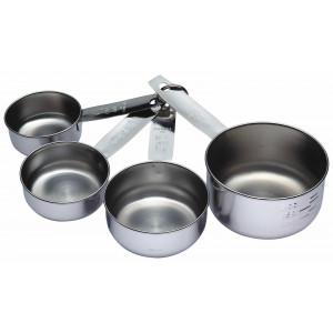 Måttsats Cups, rostfritt stål - Kitchen Craft