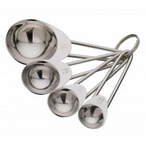Måttsat fyra delar i rostfritt stål - Kitchen Craft