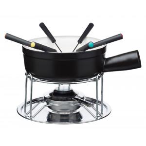 Masterclass Ostfondue gryta med gafflar och värmare