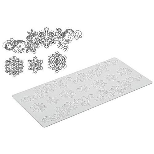 Silikomart Silikonmatta Snöflingor