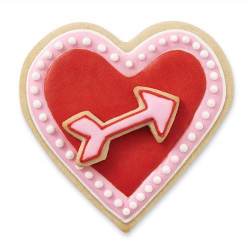 Wilton Utstickare Hjärta och pil