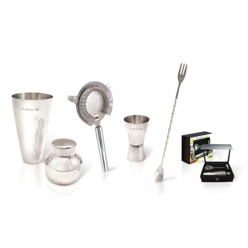 Vin Bouquet Cocktail Set, rostfritt stål