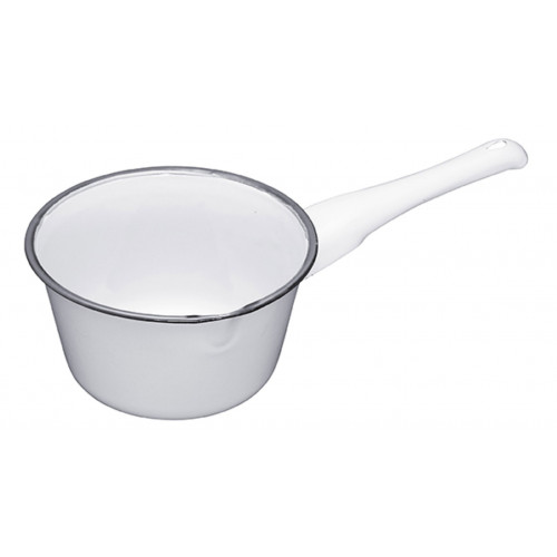 Kitchen Craft Mjölkpanna, emaljerad, 17 cm