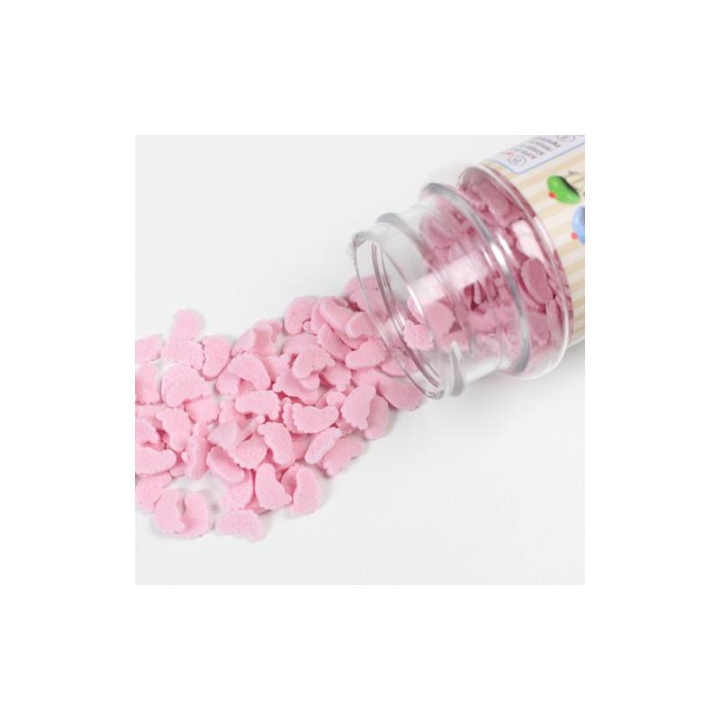 FunCakes Strössel Babyfötter, rosa