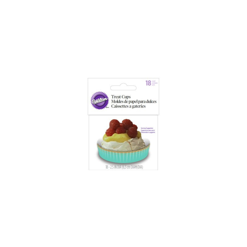 Wilton Treat Cups Kakformar, Pastell
