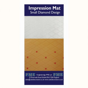 Impression Mat Small Diamond Design - PME