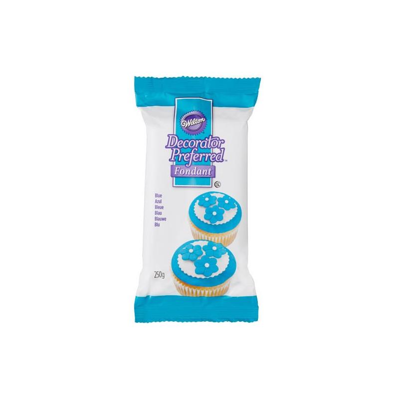 Wilton Sockerpasta Blå, 250 g