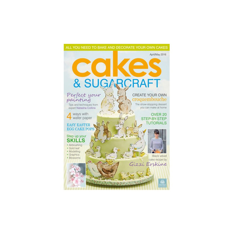 Squires Kitchen Cakes & Sugarcraft april-maj 2016