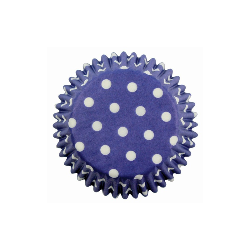 Muffinsform Blue Polka Dot - PME