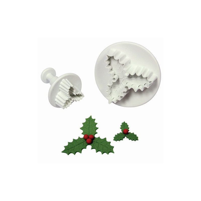 Utstickare Three Leaf Holly set - PME