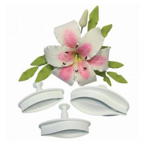 PME Utstickare, Veined Lily, medium