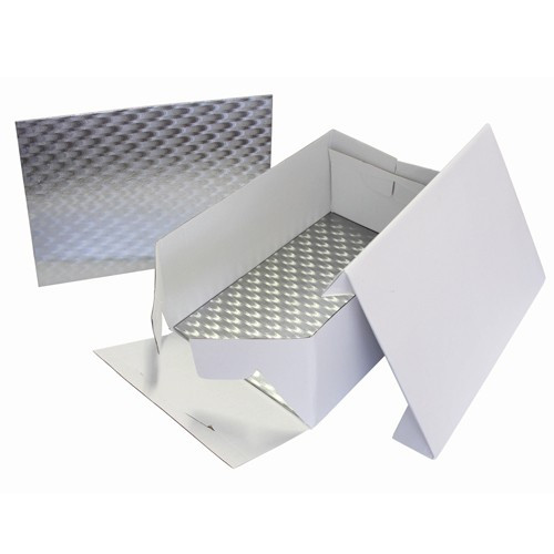 Tårtkartong rektangulär, 38 x 28 cm - PME