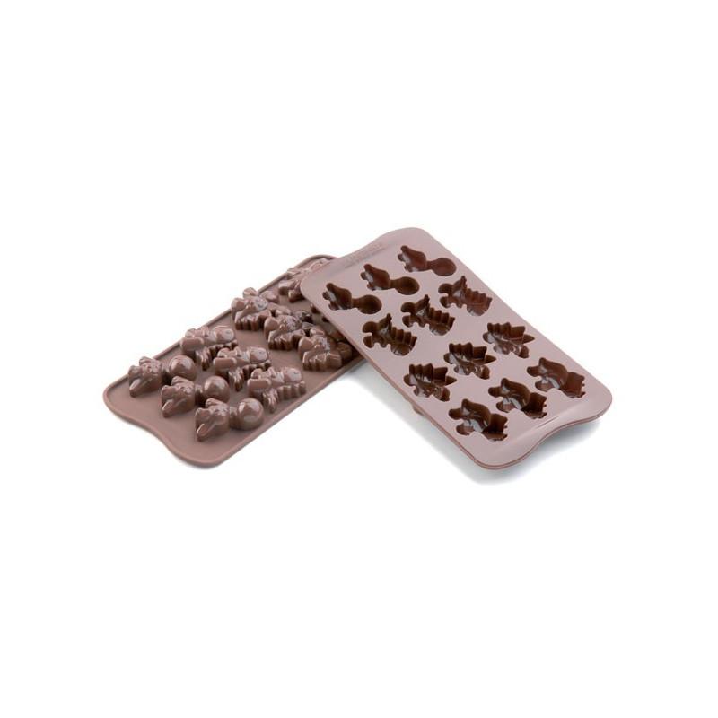 Silikomart Pralinform Dino, silikon