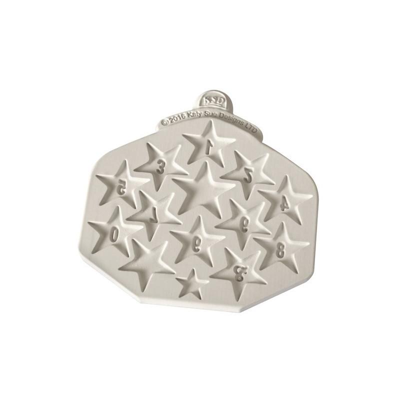 Katy Sue Designs Silikonform Plaque Rectangle Hearts