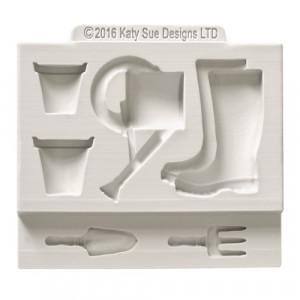 Katy Sue Designs Silikonform Garden Accessories