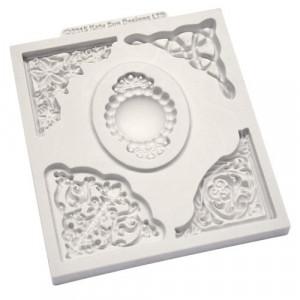 Katy Sue Designs Silikonform Decorative Corner