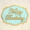 Katy Sue Designs Silikonform Happy Birthday