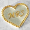 Katy Sue Designs Silikonform Mrs Heart
