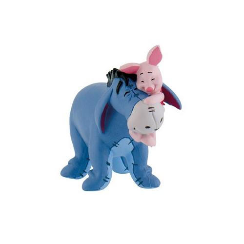 Disney Tårtdekoration i plast, Ior och Nasse