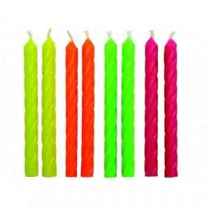 PME Tårtljus Neon