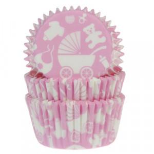 House of Marie Muffinsform Newborn, rosa